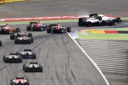 German GP: Magnussen says he had nowhere to go in Massa clash