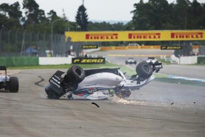German GP: Massa blames Magnussen for first-corner crash