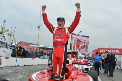 Toronto Indy Lights: Alex Baron leads Gabby Chaves in Belardi 1-2