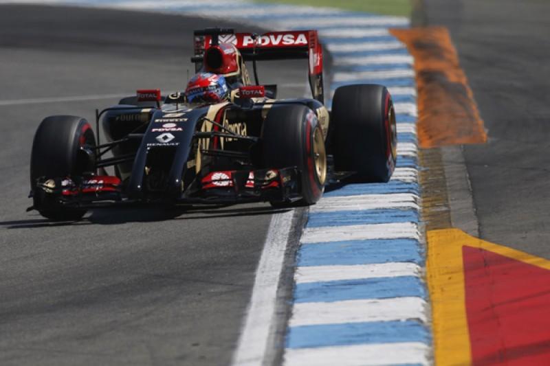 German GP: Romain Grosjean sure FRIC ban has hurt Lotus F1 team