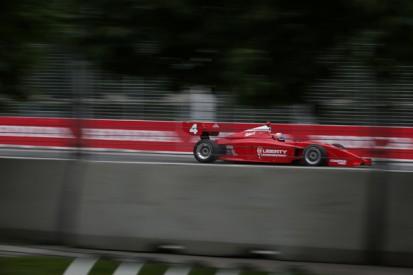 Toronto Indy Lights: Alex Baron tops messy qualifying for Belardi