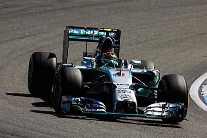 German GP: Nico Rosberg back on top in final practice