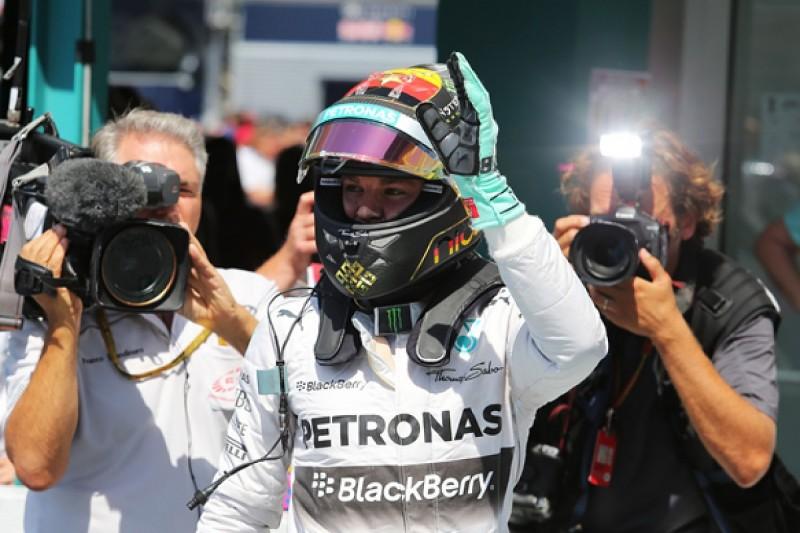 German GP: Rosberg on pole, Hamilton down in 15th