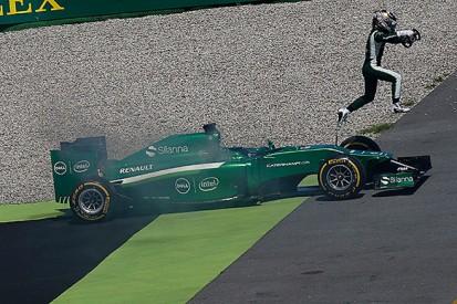 German GP: Caterham still investigating Kobayashi fire