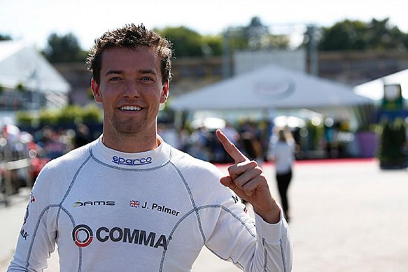 Jolyon Palmer on pole for 200th GP2 race at Hockenheim
