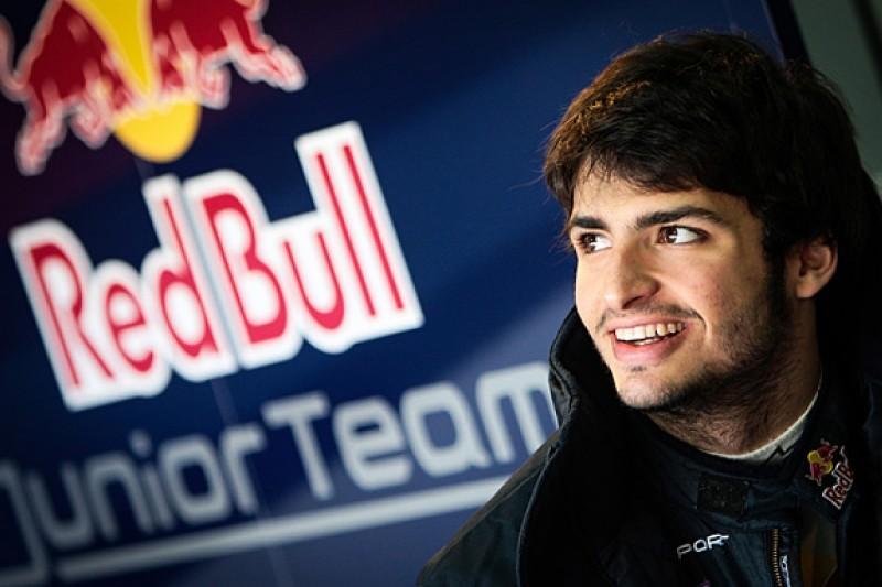Red Bull tells Carlos Sainz Jr to focus on FR3.5 title, not F1 seat