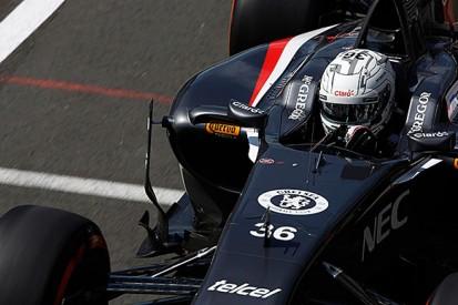 Silverstone F1 test: Van der Garde escapes injury in huge crash