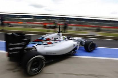 Silverstone F1 test: Williams's Felipe Massa fastest on day one
