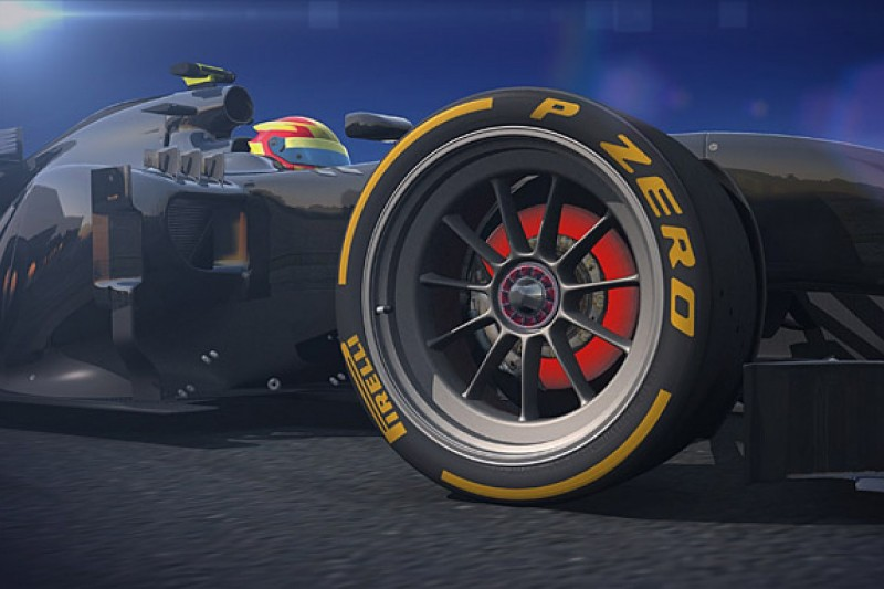 Pirelli reveals images of 18-inch Formula 1 tyres