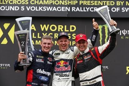 DTM star Mattias Ekstrom wins home round of World Rallycross
