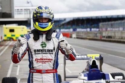 GP3 Silverstone: Koiranen's Jimmy Eriksson claims first series pole