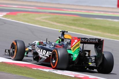 British GP: Perez says Force India not good enough at Silverstone