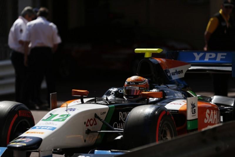 Hilmer GP2 team disputes driver Facu Regalia's accusations
