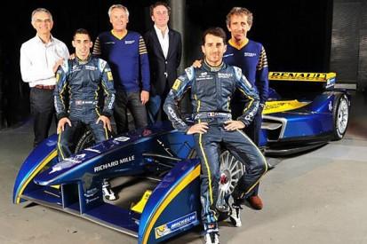 Sebastien Buemi and Nicolas Prost join e.dams Formula E team