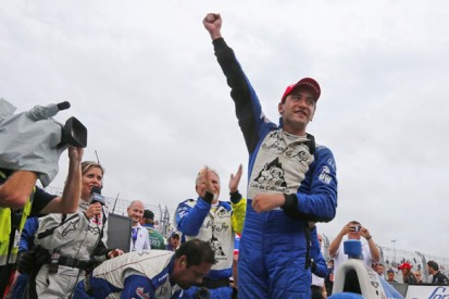 Houston IndyCar: Carlos Huertas takes shock win for Dale Coyne