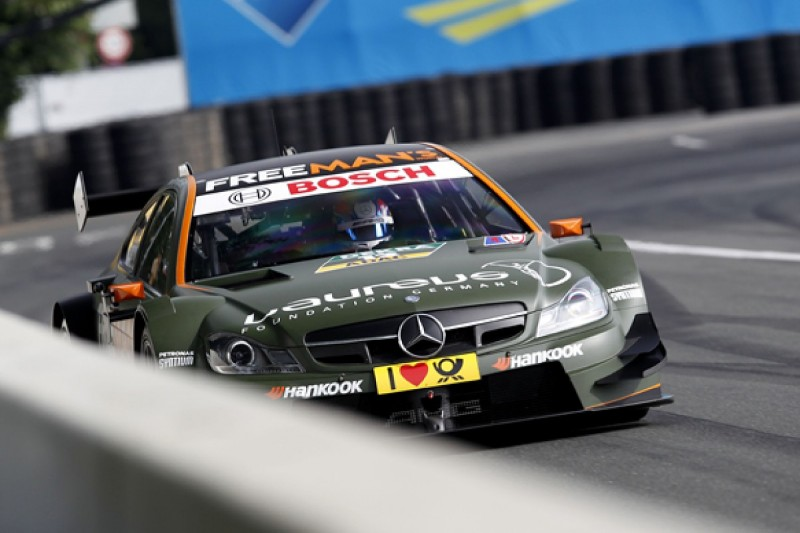 Norisring DTM: Mercedes on top with Wickens and Juncadella