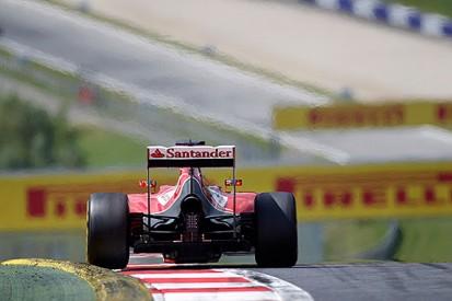 Ferrari rules out big gains during 2014 Formula 1 season
