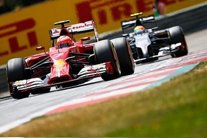 Raikkonen frustrated by Ferrari issues during the Austrian GP