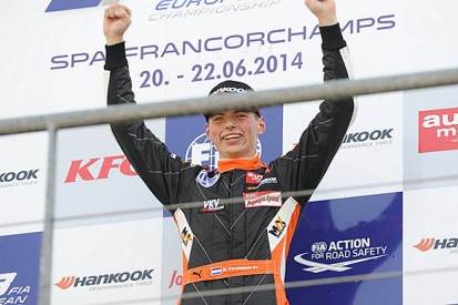 Spa European F3: Max Verstappen completes hat-trick of wins