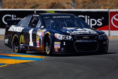 Sonoma NASCAR: Jamie McMurray beats AJ Allmendinger to pole