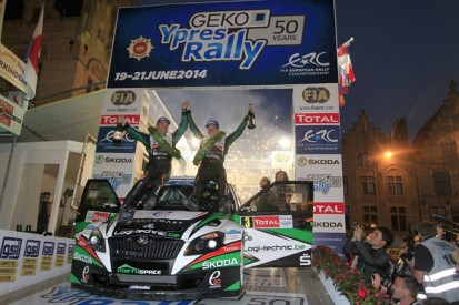ERC Ypres Rally: Freddy Loix inherits ninth home win