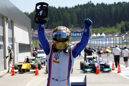 Red Bull Ring GP2: Cecotto wins thrilling sprint race for Trident