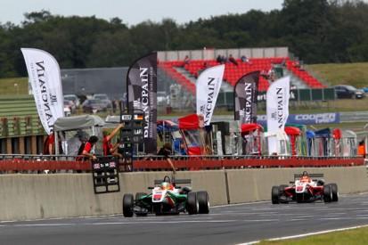 Snetterton British F3: Sam MacLeod heads all-Fortec podium