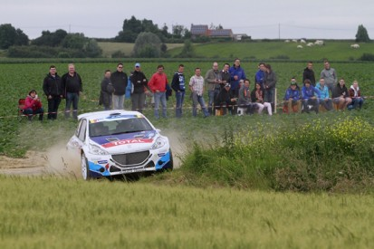 ERC Ypres: Kevin Abbring upstages Freddy Loix on day one
