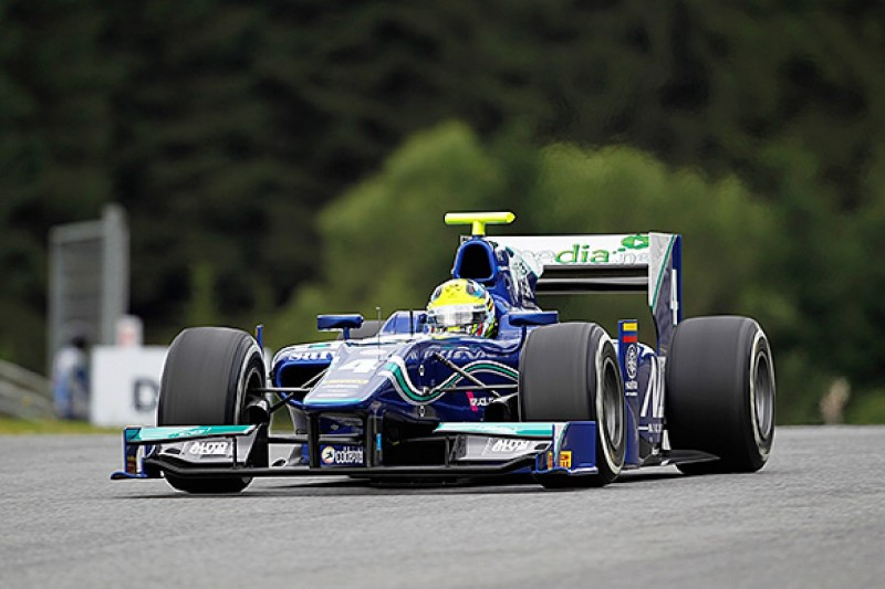 Red Bull Ring GP2: Leal sets the pace in free practice for Carlin