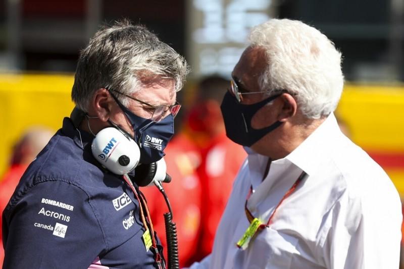 Aston Martin: Stroll träumt 2021 von Siegen für Sebastian Vettel und Co.