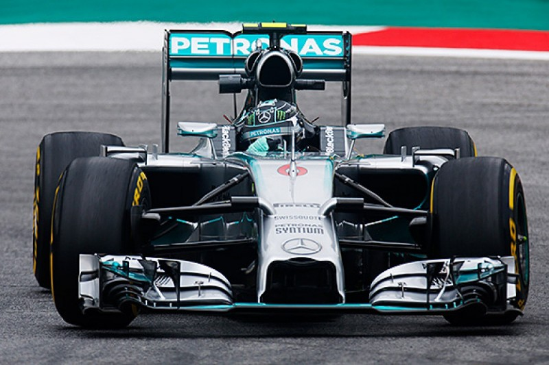 Austrian GP: Rosberg leads first practice from Hamilton
