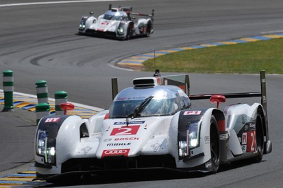 Le Mans 24 Hours: #2 Audi in trouble as sister car closes in