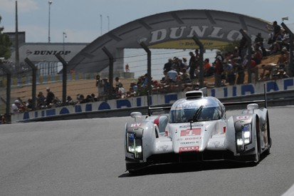 Le Mans 24 Hours: #1 Audi leads thanks to sister car turbo change