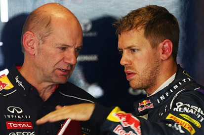 Red Bull says Vettel won't leave F1 team because of Newey