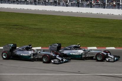 Canadian GP: Hamilton says chasing Rosberg led to brake issue