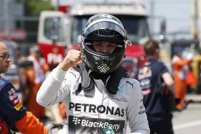 Canadian GP: Nico Rosberg beats Lewis Hamilton to pole position