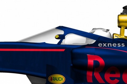Red Bull releases images of its F1 cockpit canopy concept