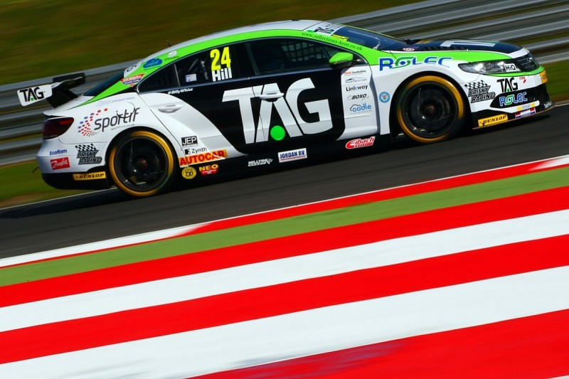 Team Hard retains Hill for third British Touring Car campaign