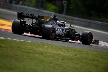 """Romain Grosjean: Haas F1 team had """"no choice"""" on Spa car spec"""