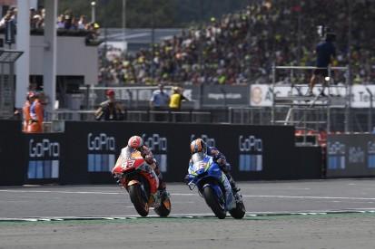 Rins lost track of last lap in Marquez MotoGP Silverstone battle