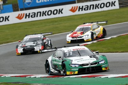 Wittmann holds off Rast to win Brands DTM opener for BMW