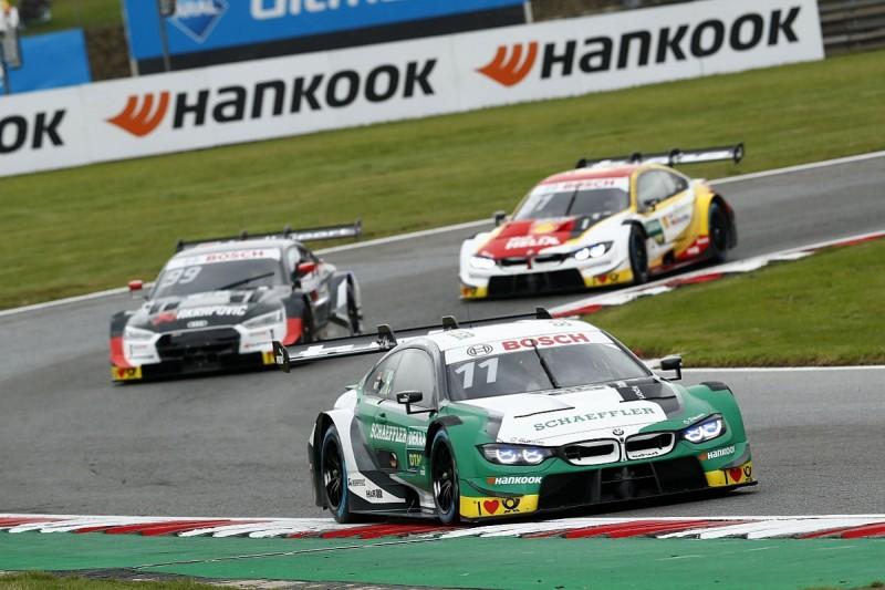 Wittmann holds off Rast to win Brands DTM opener for BMW