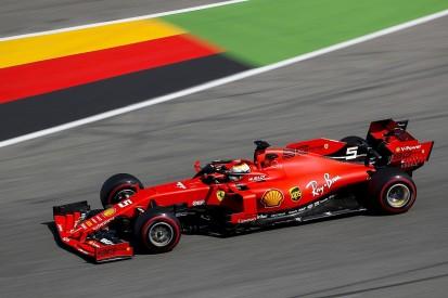 German GP: Vettel heads Ferrari one-two in FP1, late off for Bottas