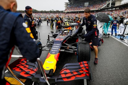 Red Bull F1 team thinks mapping caused poor German GP starts