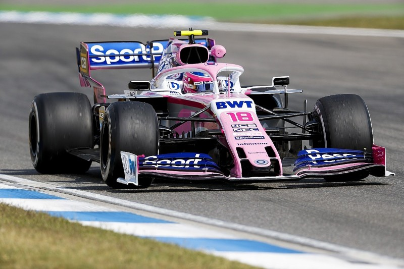 """Stroll: """"Diet"""" upgrade boosting Racing Point in Germany F1 practice"""
