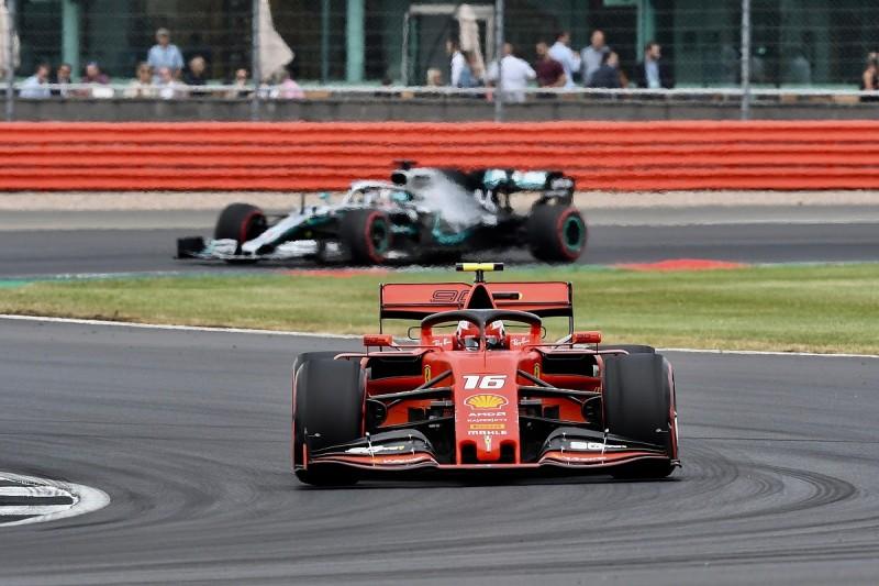 British Grand Prix: Leclerc leads Ferrari one-two in final practice