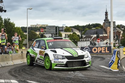 Rally Germany: Kopecky leads as Meeke crashes out on first stage