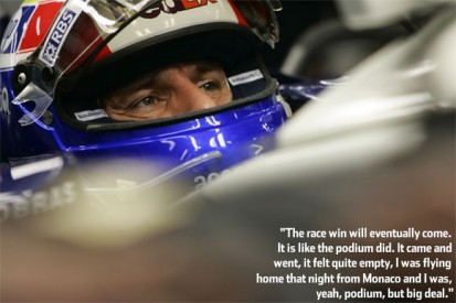 No Regrets: interview with Mark Webber