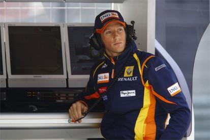 Grooming Grosjean for Renault
