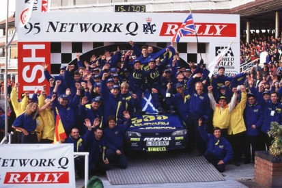 When McRae became the toast of Britain